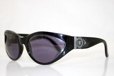 GIANNI VERSACE 1990 Vintage Mens Designer Sunglasses Black MOD 460 COL 852 9640