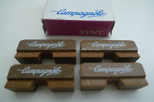 Vintage-NOS-Campagnolo-SYNT-Sinterized-Nuovo-Super-Record-Delta-Brakepads-x4