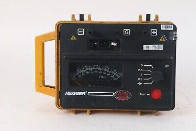 James G Biddle Megger Bm11 218650 Insulation Resistance Tester