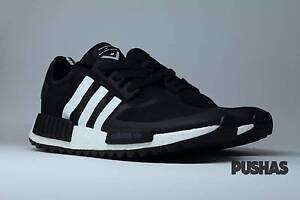 """adidas NMD_R1 """"Trail x White Mountaineering"""" - Black/White (New) Melbourne CBD Melbourne City Preview"""