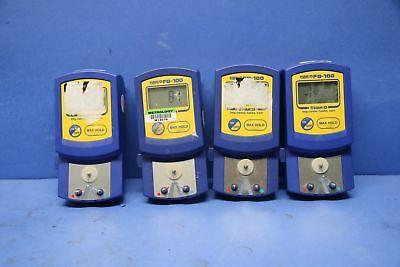 4 Used Hakko Fg100-02 Fahrenheit Digital Thermometer 17619