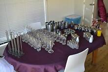 cafe glasses tea pots salt & pepper shakers frothing jugs etc. Stockton Newcastle Area Preview