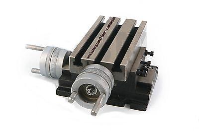 Bohrtisch, Frästisch, Kreuztisch, Koordinatentisch - 190 x 105 mm Nr.01144