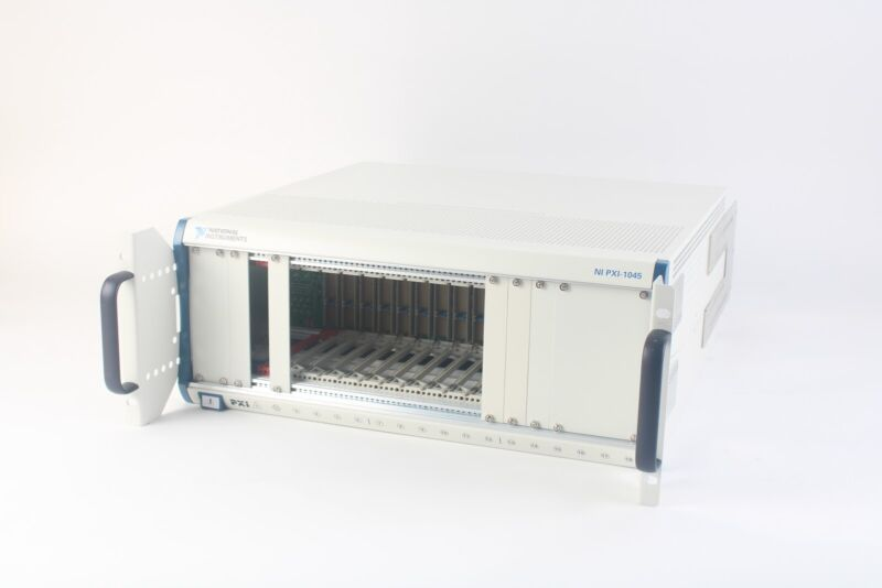 National Instruments NI PXI-1045 18-Slot 3U PXI Chassis 189105K-01L