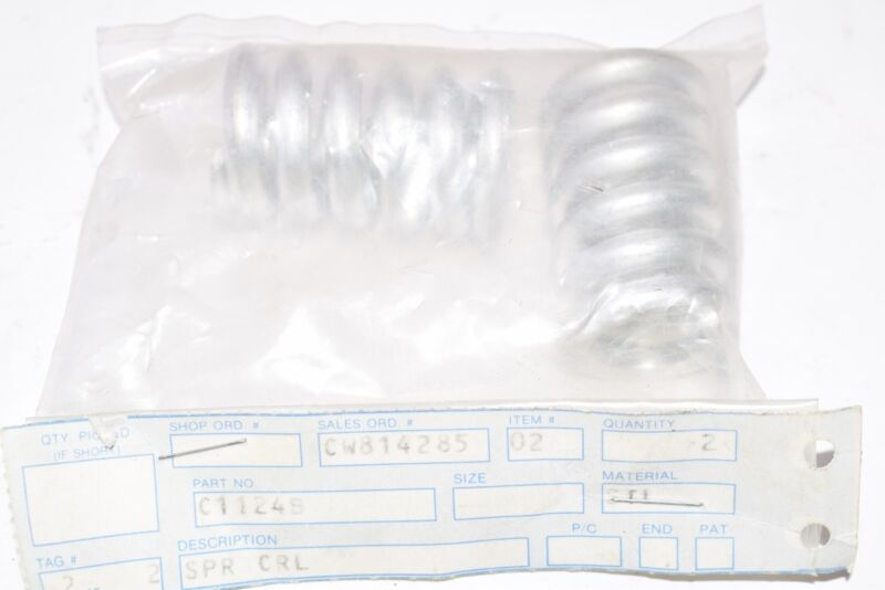 Pack of 2 NEW Part: C11248 Springs, 1-5/8