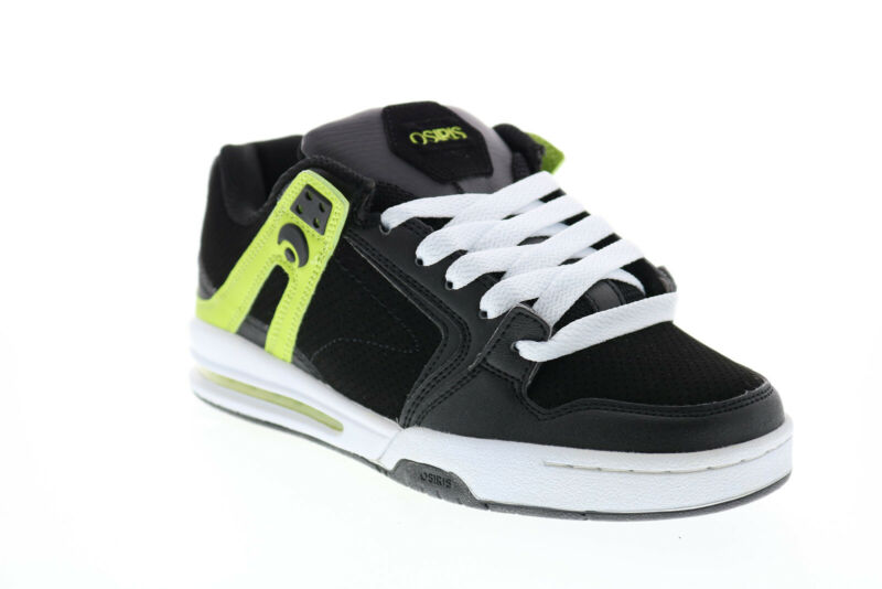 Osiris PXL 1331 1204 Mens Black Synthetic Skate Sneakers Shoes