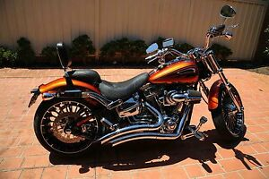 2014 Harley Davidson CVO Breakout Orange Sydney Chipping Norton Liverpool Area Preview