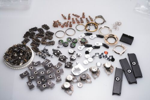 Lot Nikon Camera Repair Parts for F2 F Most are New Old Stock RARE!