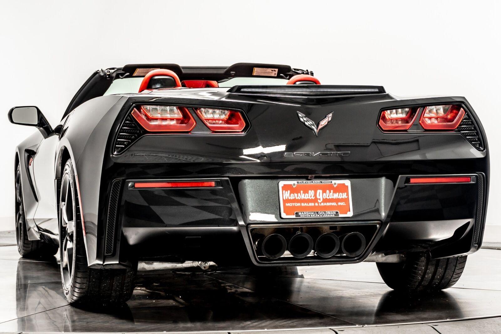2014 Black Chevrolet Corvette Convertible 2LT   C7 Corvette Photo 6