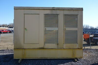 Large Outdoorweatherproof Generator Housing Wbase Fuel Tank