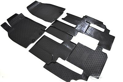 Premium 3D Design Floor Liners Mats All Weather for MAZDA CX 9 2007 2015