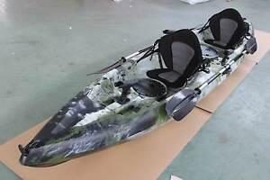 2.5 Seater Fishing Kayak Double Deer Park Brimbank Area Preview