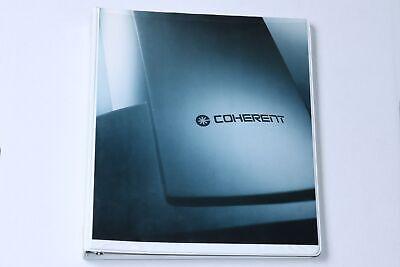 1996 Coherent Ultrapulse Co2 Ultra Pulse Laser Operator Manual Rev B 0625-378-01