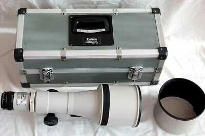 Canon new FD 600mm f4.5 converted to EF mount (MF) + E converter