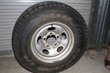 Suitable for Toyota Land Cruiser 100 Series 4x4 spare rim & tyre: Tin Can Bay Gympie Area Preview