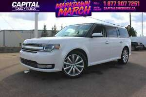 2017 Ford Flex LIMITED ECOBOOST AWD    21K KMS