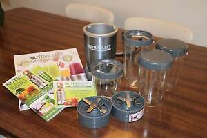 Barely used NutriBullet PRO 900W Nutri Bullet 15PCS plus books Footscray Maribyrnong Area Preview