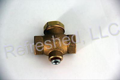 5x780 Grainger Brass Inline Check Valve W 18 Unloader Port