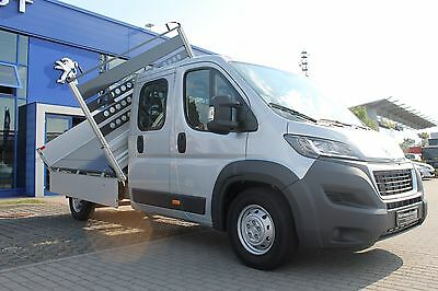 PEUGEOT Boxer Kipper Edition 435 L3 130 Klima CD Bluet.