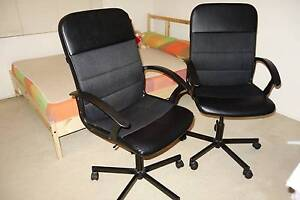 Used 3 office chairs for $30 each Burwood Burwood Area Preview