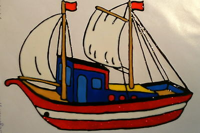 Window Color Fensterbilder Segelschiff Nr.2 Maritimes