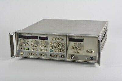 Hp Hewlett Packard 8350b Sweep Oscillator W 83592a Rf Plug-in Module
