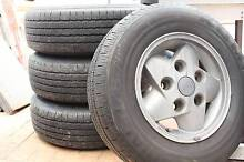 Land Rover (4X4) 4 ea factory rims and tires! Kelvin Grove Brisbane North West Preview