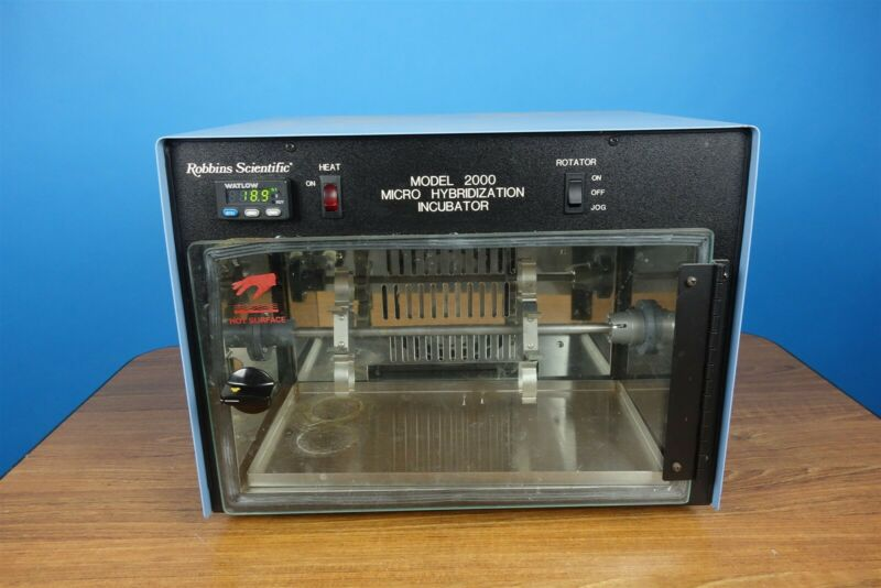 Robbins / Bellco Scientific Model 2000 Micro Hybridization Oven / Incubator