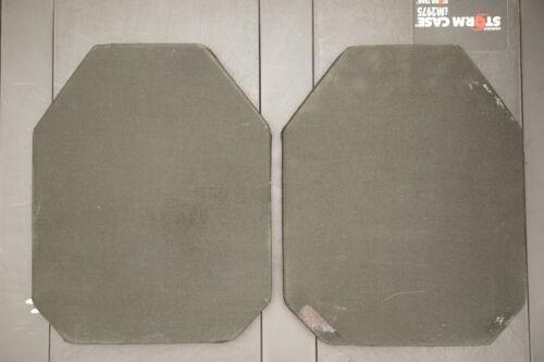 Ceramic Hard Plate Ballistic Body Armor, sapi esapi USA Made pair/set of plates