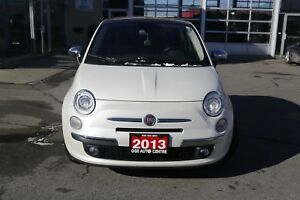 2013 Fiat 500 Lounge Hatchback | KEYLESS ENTRY | ALLOY WHEELS |