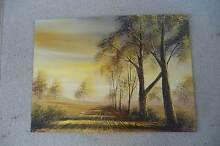 Original oil painting Higgins Belconnen Area Preview