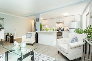 BEAUTIFUL 2 + DEN  BDRM UNITS AVAILABLE, INSUITE LAUNDRY & AC!!!