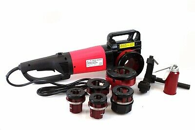 2000w Portable Electric Pipe Threader W 6 Dies Threading Machine 12 To 2 Npt