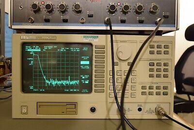 Hp 3589a 10hz To 150mhz Spectrum Network Analyzer W New Battery High Stability