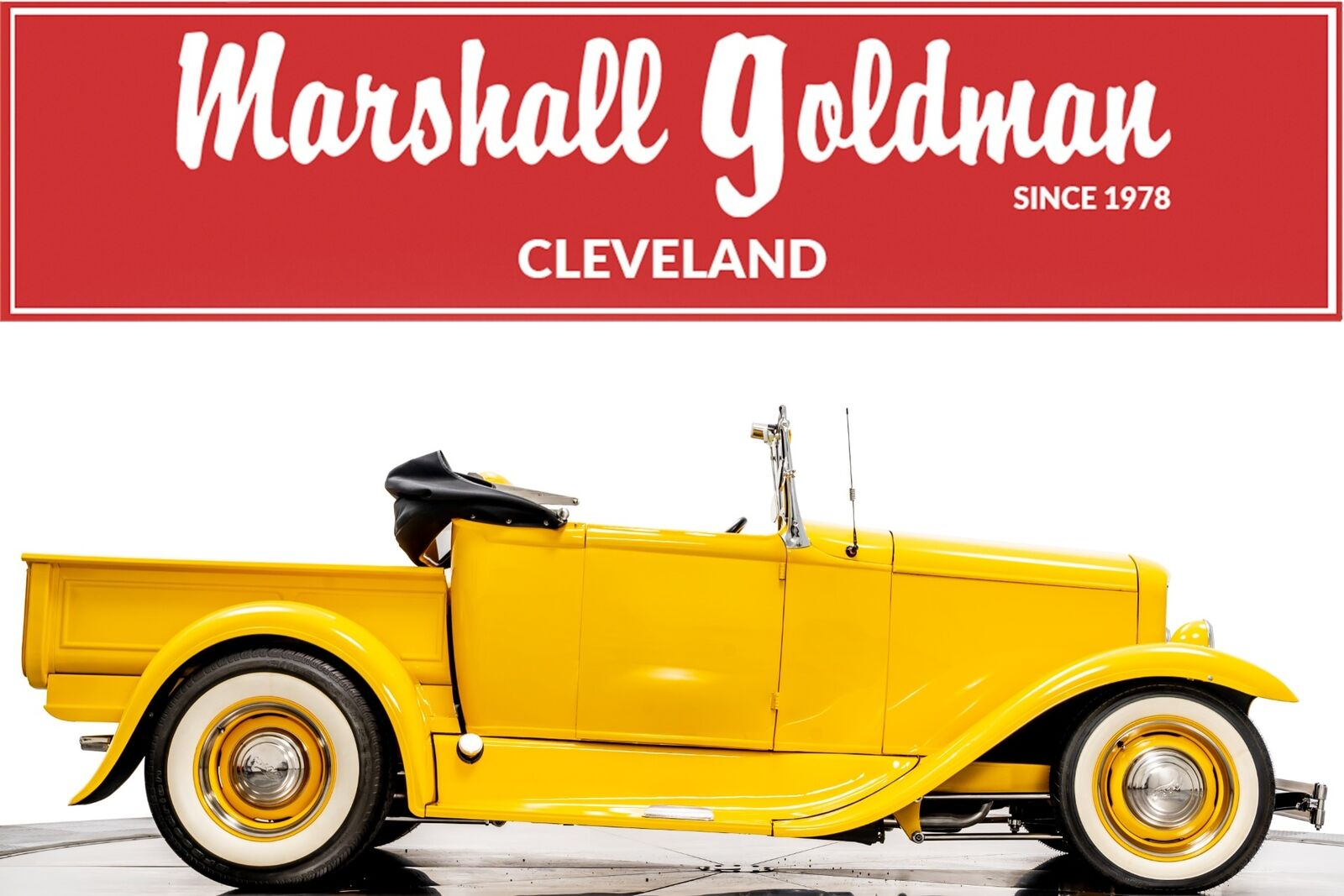 1931 Ford Pickup Convertible Truck 350ci V8 3-Speed Automatic