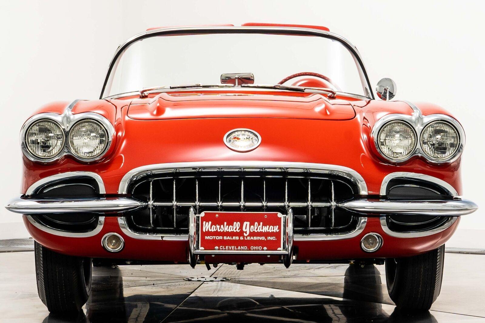 1960 Red Chevrolet Corvette   | C1 Corvette Photo 3
