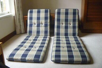 Cushions For Sun Lounger Steamer Chairs