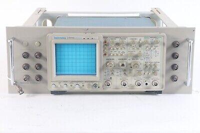 Tektronix 2465b 4-channel 400mhz Oscilloscope W Opts. 1011