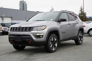 2018 Jeep Compass Trailhawk - NAVI, LEATHER, SUNROOF!