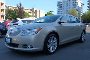 2012 Buick LaCrosse Leather Luxury Package