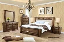 new bedroom HARDWOOD ashy-light colour CERTEGY available Bundall Gold Coast City Preview