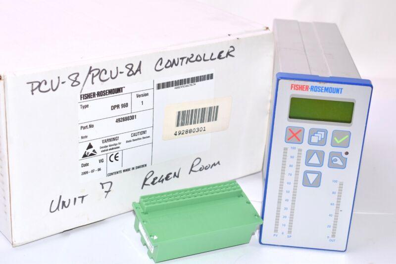 NEW, Fisher, Rosemount, 492880301, DRP-960, Single Station Digital Microcontroll