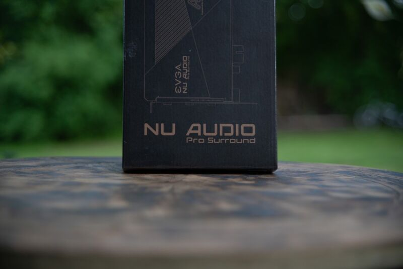 EVGA NU Audio Pro Surround Card 712-P1-AN10-KR Add On Card Requires Nu Audio Pro