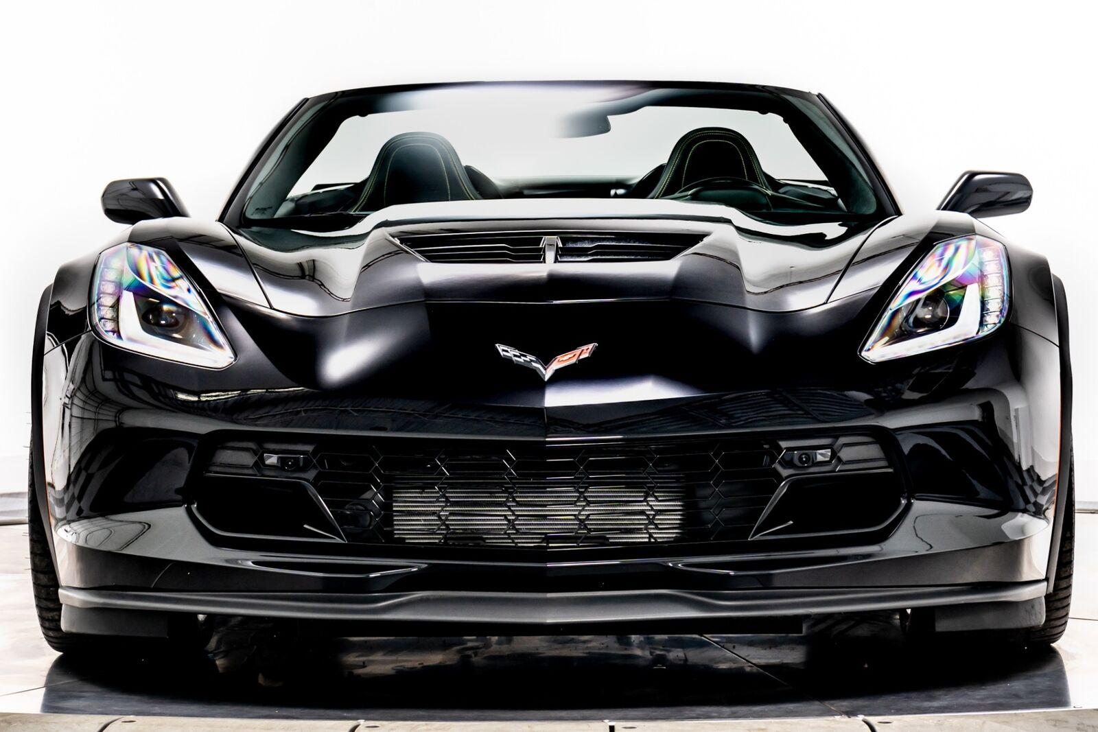 2018 Black Chevrolet Corvette Z06 3LZ   C7 Corvette Photo 3