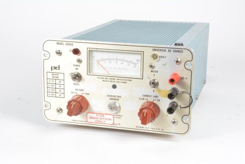 Power Designs 6050A Universal Power Source