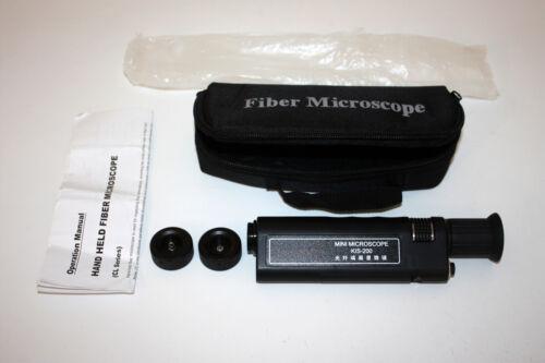 Komshine KIS-200 Fiber Optic Connector MicroScope with 1.25/2.5mm Adapter
