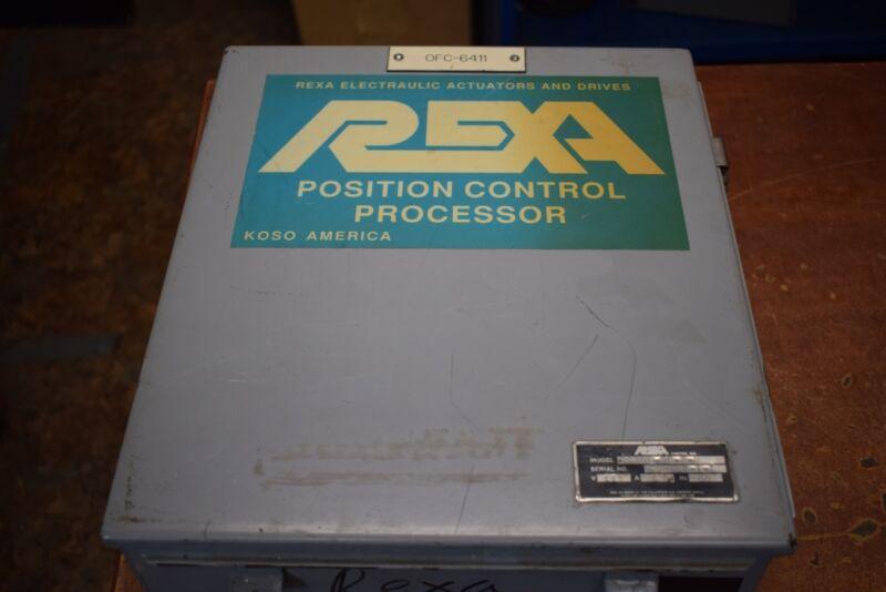 Rexa R1200-90-B-U Electrulic Actuator Drive Controller Position Control Processo