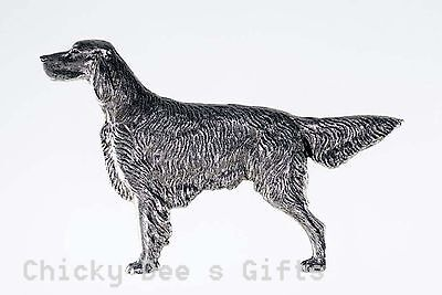 Grillie IRISH SETTER dog Grill Ornament CarTruck hood Mother's Father's Day