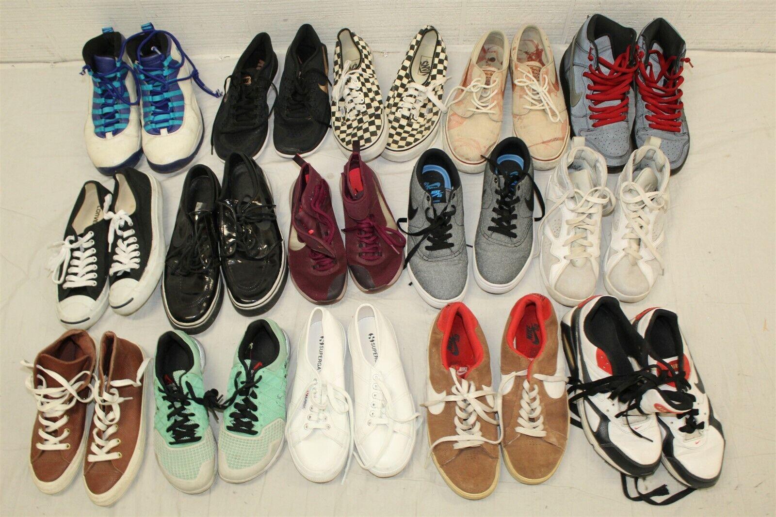 Sport Shoes Lot Wholesale Used Rehab Resale 26 POUNDS! Nike Vans Collection