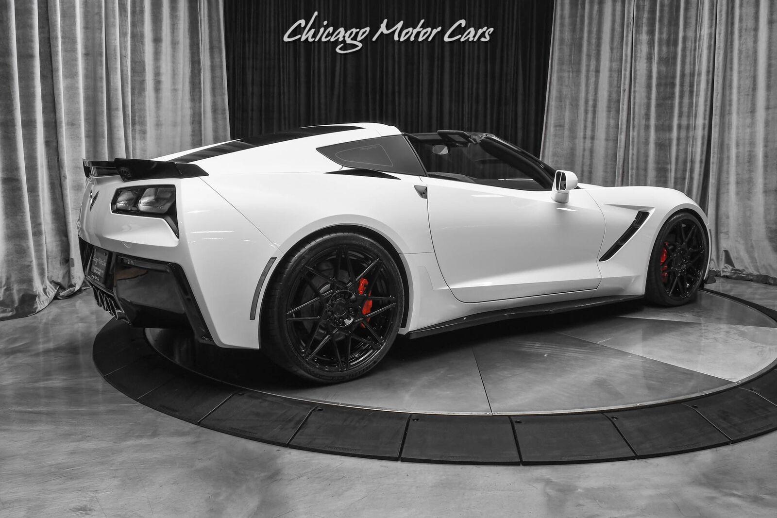 2016 White Chevrolet Corvette Stingray    C7 Corvette Photo 5